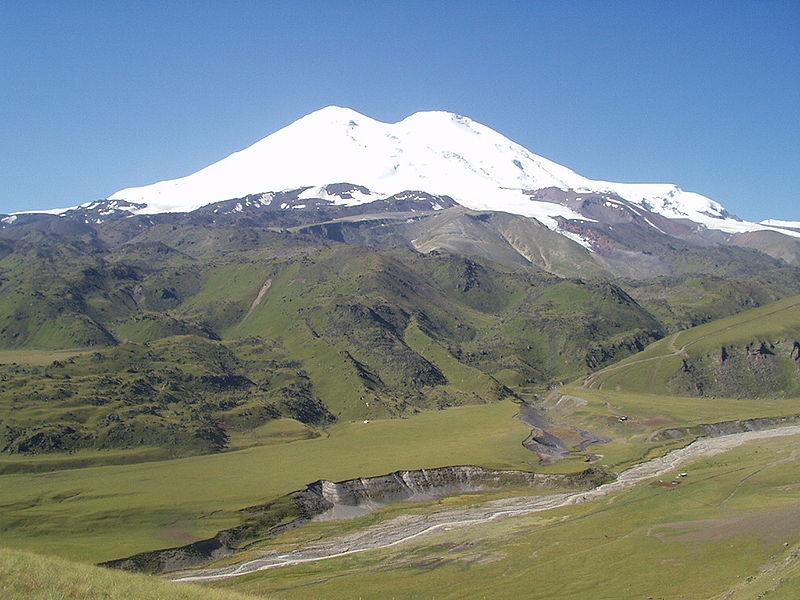 Monte Elbrus. Fuente Wikipedia