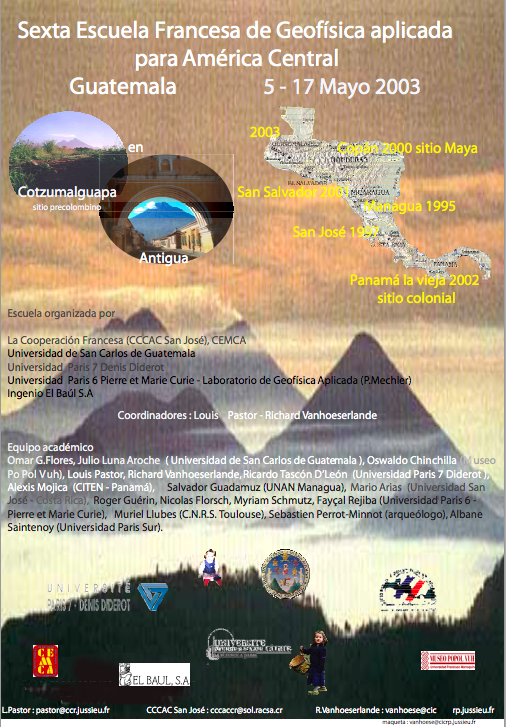 Centro america Geofisica