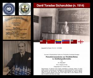 Danil Toradse, físico georgiano-venezolano, profesor titular de la UCV, celebra 100 años