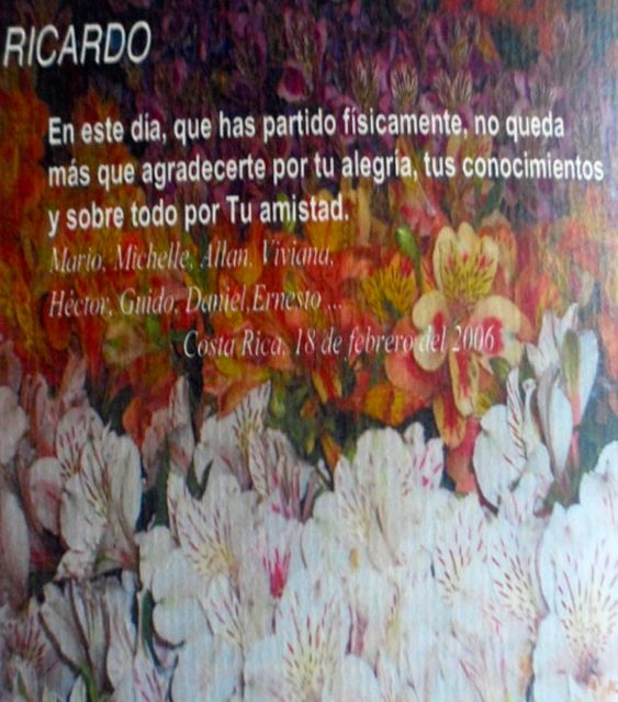 Tascon Fallecimiento Costa Rica