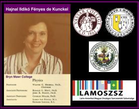 Hajnal Ildikó Fényes, la primera mujer en enseñar Física en la Universidad Central de Venezuela