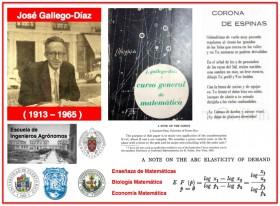 Vida, arte y ciencia en José Gallego-Díaz (1913-1965): un brillante matemático español en Venezuela