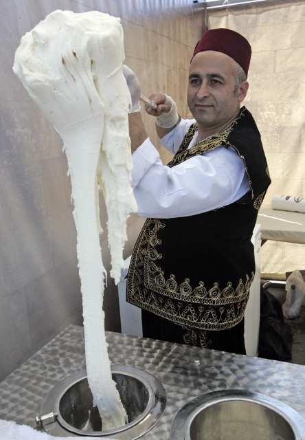 Helado turco