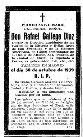 Rafael Gallego Diaz