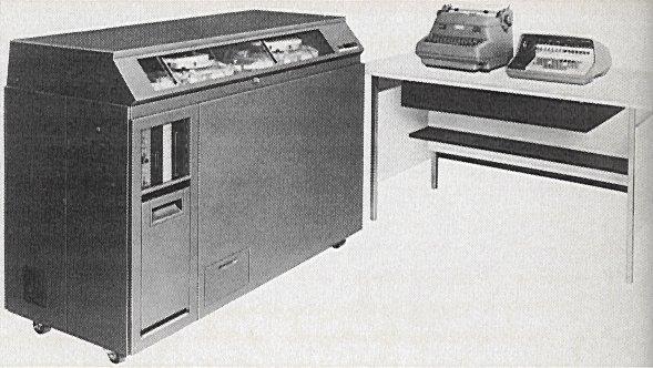 Ilustración tomada de Computing History,IBM 610, Columbia University