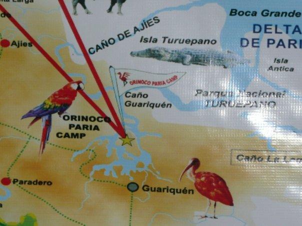 Orinoco Paria camp Guarapiche