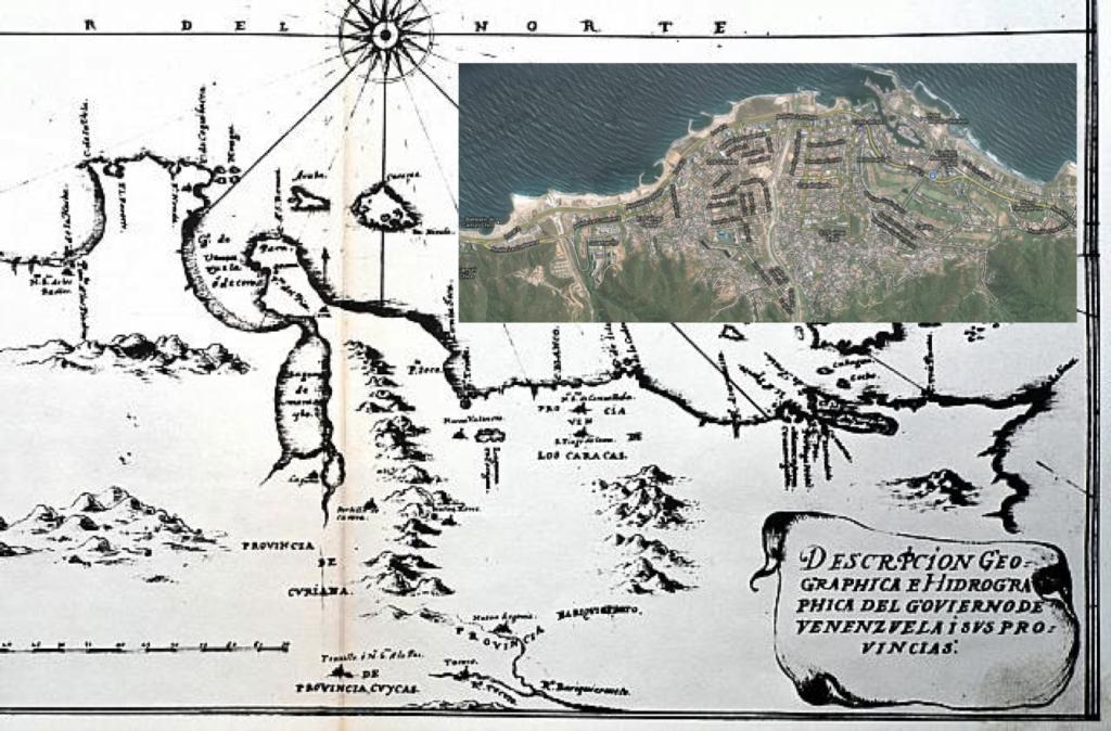 Mapa Caraballeda