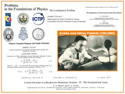 VES-i: Andrés José Kálnay (1932-2002) y la Mecánica de Nambu entre nosotros