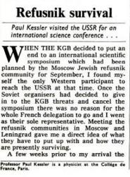Kessler in USSR