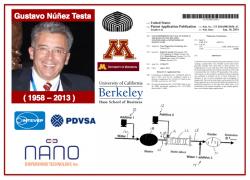 VES-e: Gustavo Núñez Testa (1958-2013) – Músico, científico, innovador, emprendedor, y gerente petrolero. Un gran venezolano
