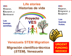 Funding for VES Project / Apoyo para Proyecto VES