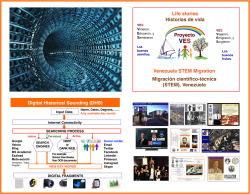 Digital Historical Sounding and the VES Project: Using the Web for historical research (or for competitive intelligence analysis)