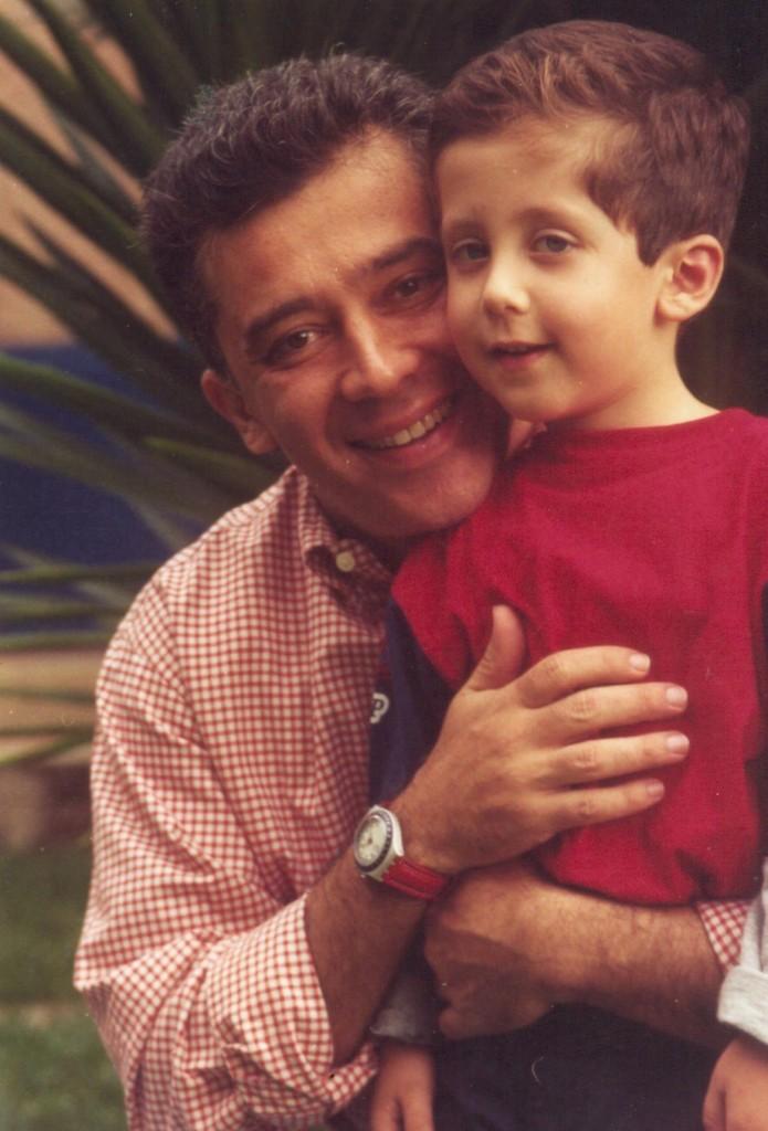 gustavo y su hijo