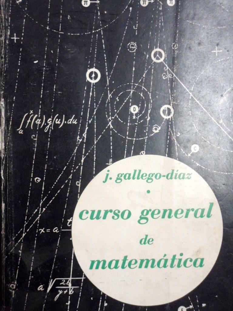 Libro matematicas Jose Gallego Diaz