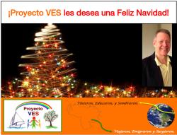 Proyecto VES: Recuento 2018 y Feliz Navidad