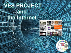 VES PROJECT and the Internet