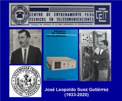 José Suez Gutiérrez, «in memoriam»